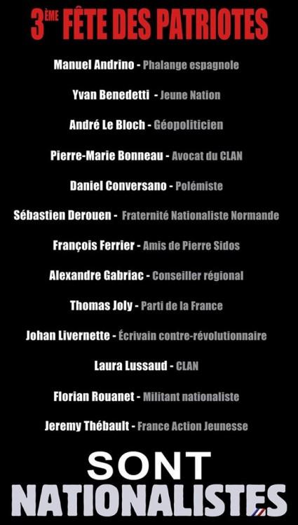 3e-Fête-des-Patriotes-benedetti-le-bloch-conversano-bonneau-derouen-ferrier-gabriac-joly-livernette-lussaud-rouanet-thébault-425x749