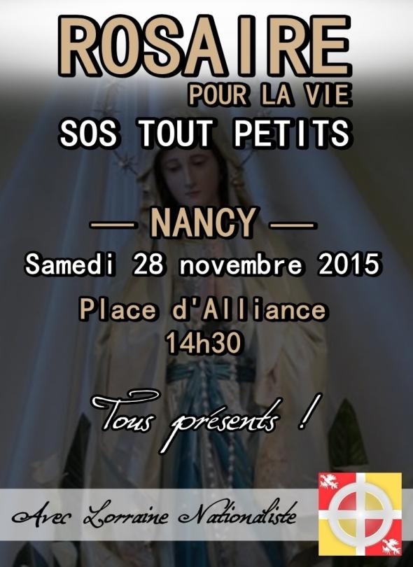 Rosaire Nancy 2015