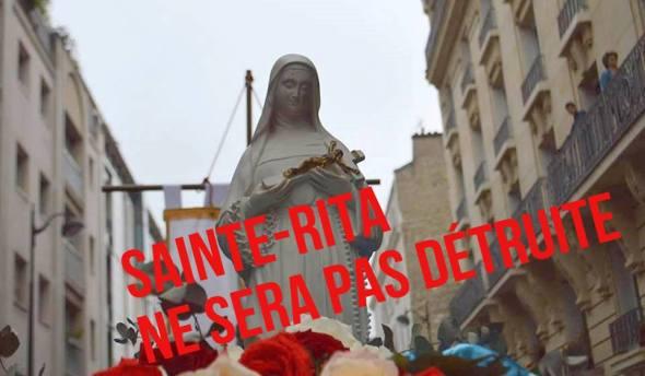 L'église Sainte-Rita ne sera pas détruite 13413762_814225632045675_1409681128632711904_n