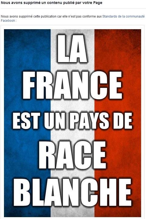 FB anti Blanc