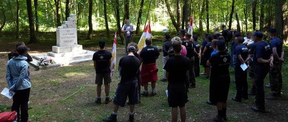 Bois des Caures Hommage